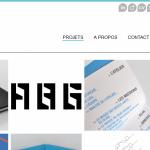 Nouveau projet en ligne : book d'une graphiste