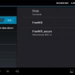 Tablette Polaroïd midc901 sous Android : se connecter au wifi